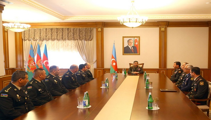 The ceremony of awarding the high military ranks was held