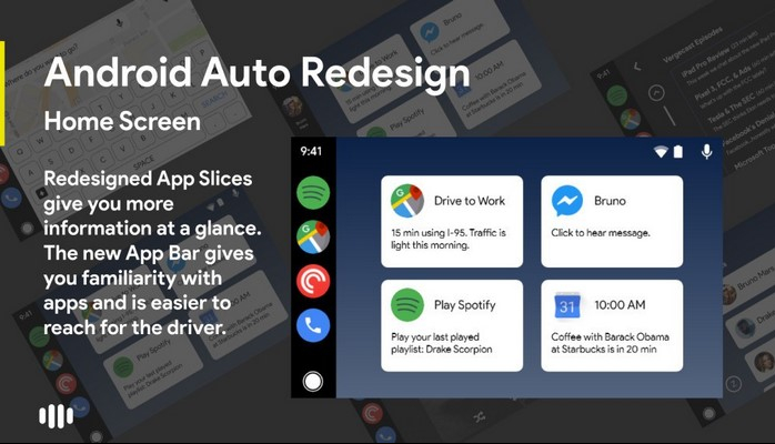 What do you think about this Android Auto redesign concept?