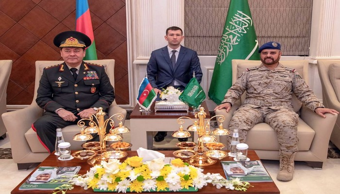 Azerbaijan and Saudi Arabia discussed the prospects for the development of relations between the armies of the two countries